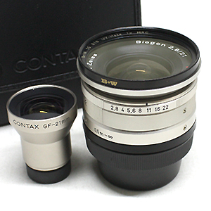 CONTAX Biogon 21mm F2.8 + FINDER SET