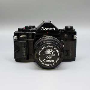 CANON A-1 BLACK 50mm f1.4