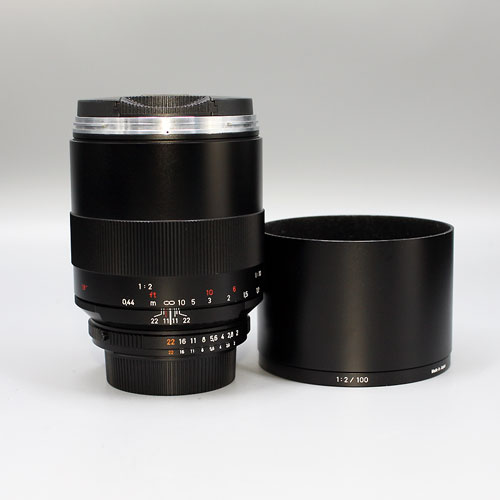 ZEISS, Makro- Planar 100mm f2 ZF.2